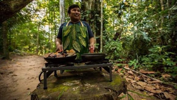 Roy Riquelme, el cocinero de Madre de Dios. (Mohsin Kazmi Takes Pictures).