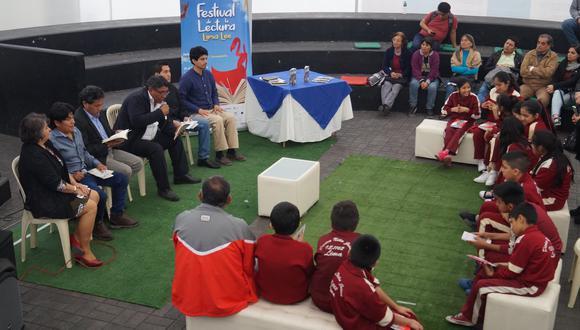 El festival de la lectura Lima lee se realizará hasta el domingo 30 de setiembre (Difusión).