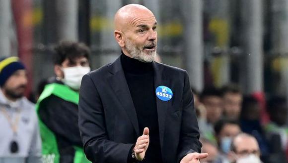 Stefano Pioli es entrenador de AC Milan desde octubre del 2019. (Foto: AFP)