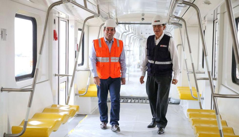 Primer tramo de la Linea 2 del Metro de Lima estará operativa en 2019. (Andina)
