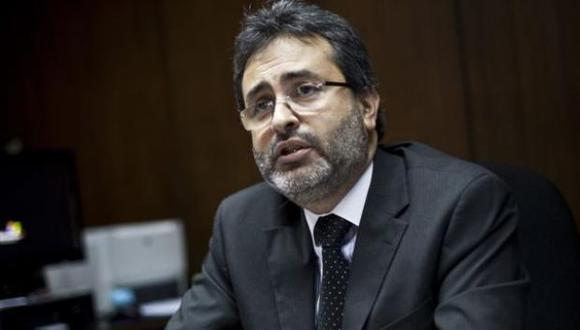 Jiménez Mayor discrepó con la postura crítica del presidente del Tribunal Constitucional, Ernesto Blume, sobre la reforma política. (Foto: GEC)