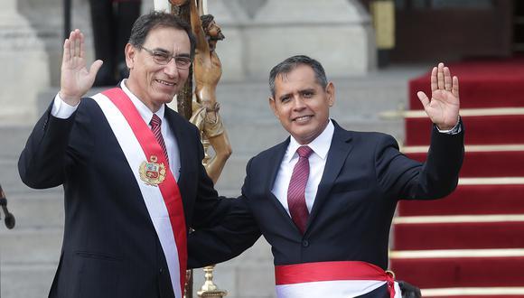 Gustavo Mostajo fue ministro de Agricultura durante el gobierno de Martín Vizcarra (GEC).