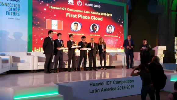 Estudiantes de San Marcos ganan con curso de Huawei (Foto: Andina)