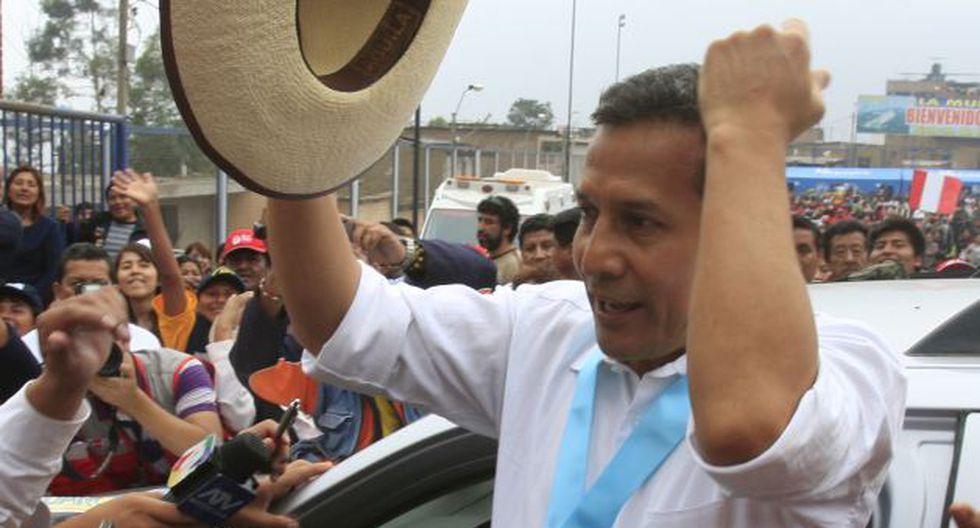 CIERRA FILAS. Mandatario estuvo en Callahuanca, Huarochirí. (Martín Pauca)