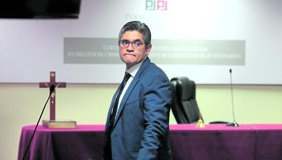 El fiscal Luis Germaná tiene varios procesos abiertos que podrían sancionar a José Domingo Pérez.