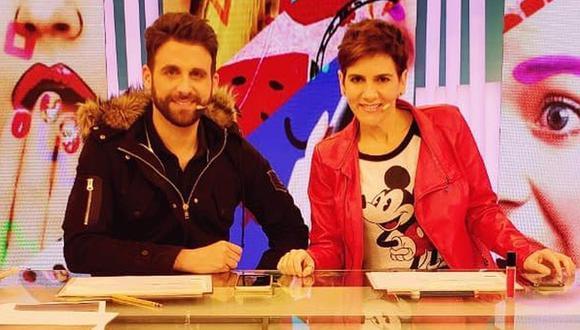 """Willax TV suspende la emisión de """"Amor y Fuego"""" tras detectar caso positivo de COVID-19. (Foto: @gigi_mitre)"""