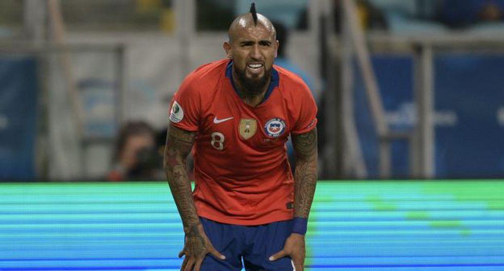 Arturo Vidal analizó así la derrota de Perú en semifinales de la Copa América 2019. (Foto: AFP)