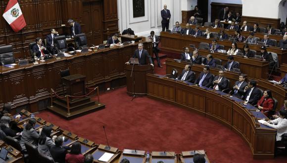 Legisladores de todas las bancadas parlamentarias debaten si otorgar o no la confianza al Ejecutivo. (Foto: Anthony Niño De Guzmán / GEC)