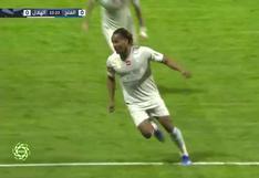 André Carrillo anotó un golazo de taco para el 1-0 de Al Hilal ante Al Fateh | VIDEO