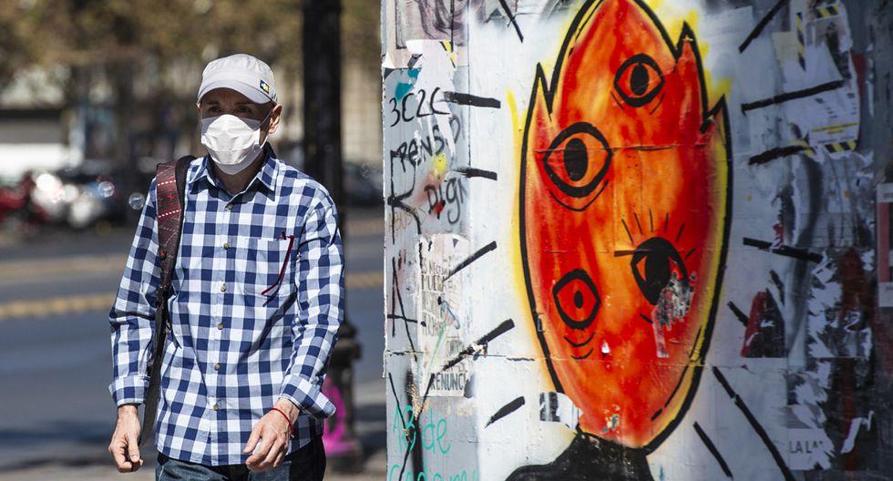 Santiago de Chile cumplirá desde este jueves una cuarentena total por el coronavirus. (Foto: AFP)