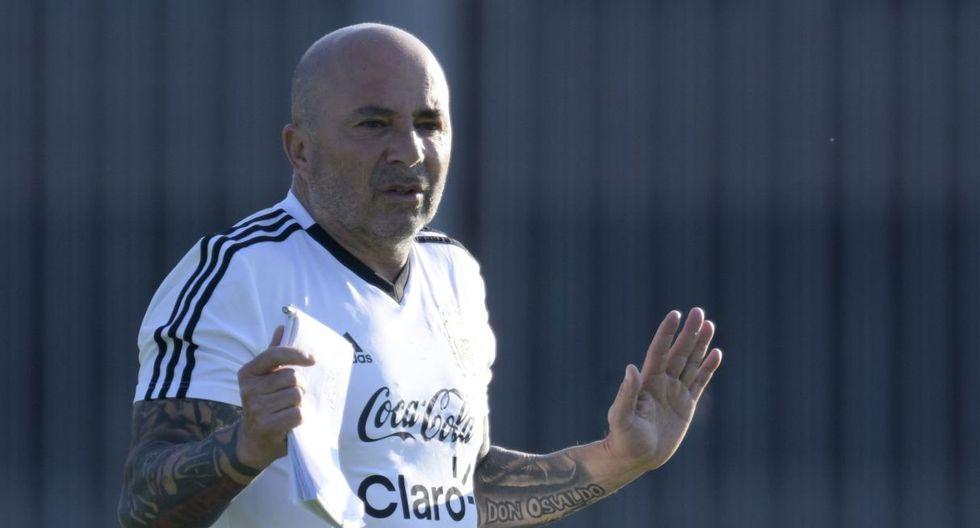 Jorge Sampaoli está en la mira de la selección venezolana. (Foto: AFP)