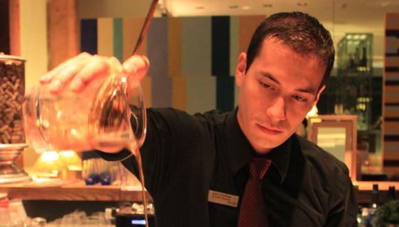 Joel Chirinos, uno de los mejores bartenders del mundo. (Gonzalo Pajares)
