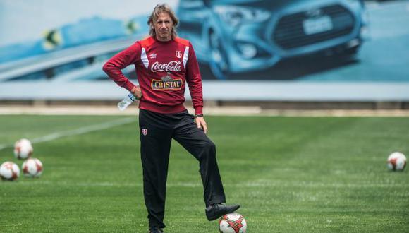"Perú a Rusia 2018: Ricardo Gareca admite que sí pensó en Claudio Pizarro ""pero se lesionó"". (AFP)"