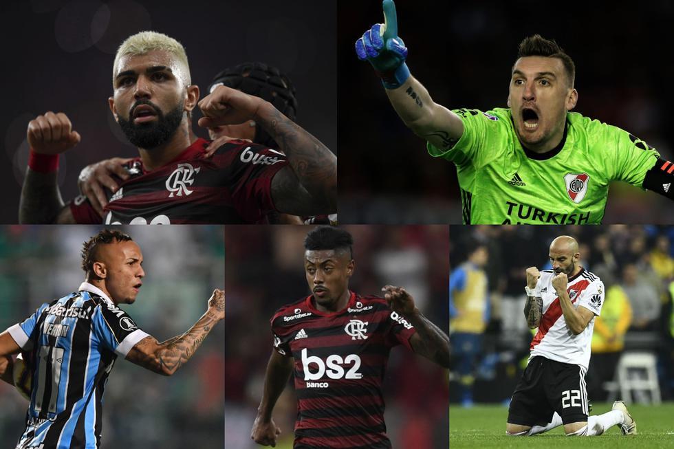 Un lujo: el XI ideal de la Copa Libertadores 2019 previo a la final entre River Plate y Flamengo en Lima [FOTOS]