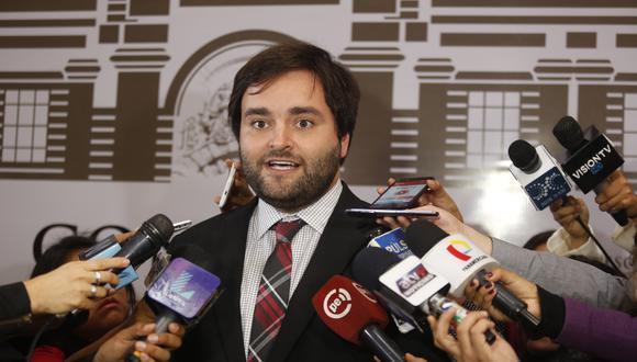 Alberto de Belaunde recordó que durante el gobierno de PPK varios oficialistas advirtieron que no era posible concertar con el fujimorismo. (Foto: GEC)