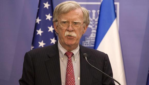 """Bolton consideró que """"debe haber consecuencias"""" contra The New York Times por su artículo. (Foto: EFE)"""