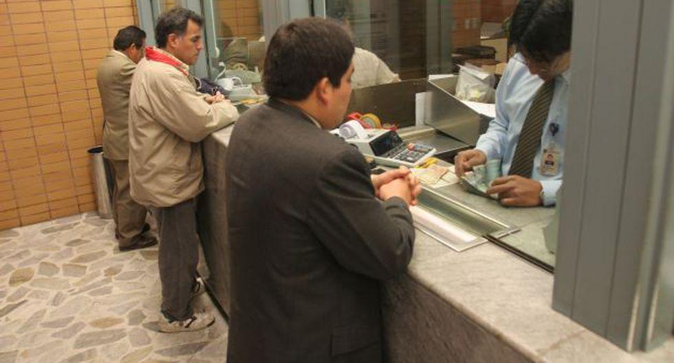 Las tasas de interés bajarían este año debido a la mayor competencia en el sistema financiero. (USI)
