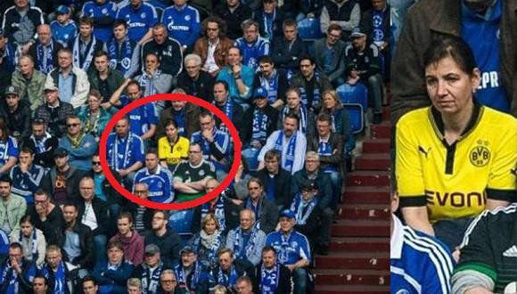 Borussia Dortmund: Premiaron a valiente hincha (USI)