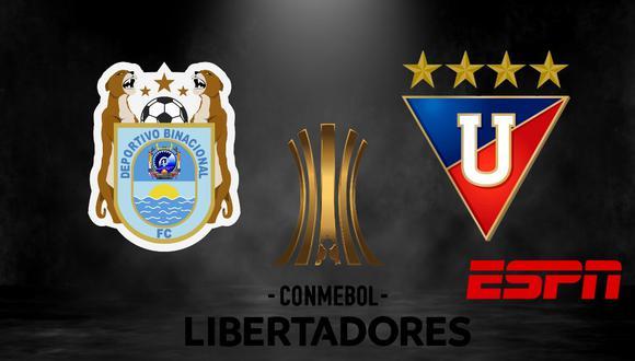 River Plate, Sao Paulo, LDU y Binacional tienen 3 puntos en el grupo D de la Copa. (Foto: Composición)