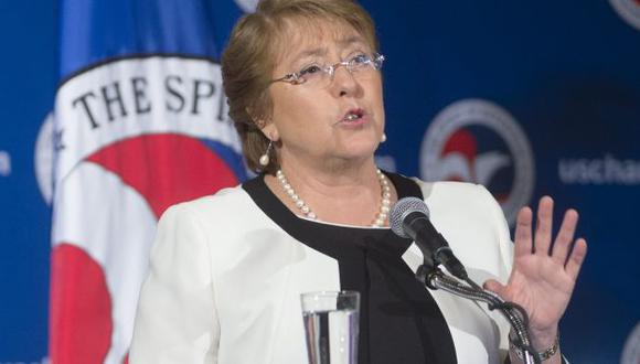 Chile objetará competencia de La Haya en litigio con Bolivia, anunció presidenta Michelle Bachelet. (EFE)