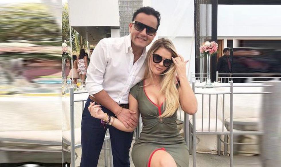 A pesar de la diferencia de edad, Brunella Horna (20) y Richard Acuña (33) disfrutan de su romance a plenitud. (Instagram/@brunehorna)