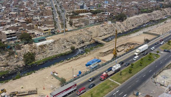 El puente Morales Duárez cruzará el río Rímac. (Foto: Municipalidad de Lima)