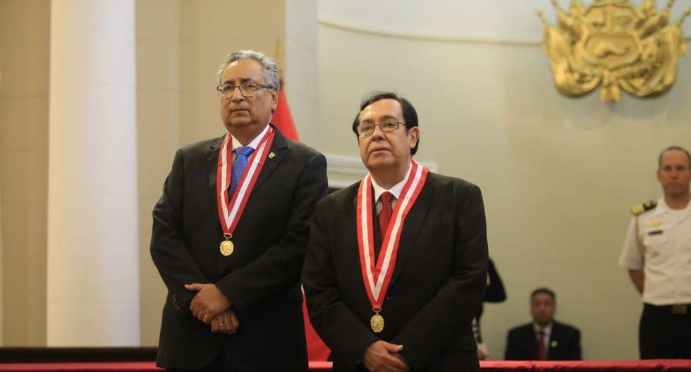 José Luis Lecaros asumirá la presidencia del Poder Judicial en enero de 2019.(Foto Jessica Vicente/GEC)