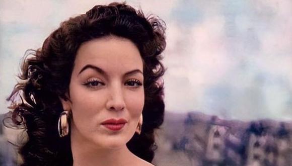 En 1960 fue la cuarta mujer más fotografiada del mundo, solo después de Marilyn Monroe, Sofía Loren y Marlene Dietrich (Foto: María Félix / Instagram)