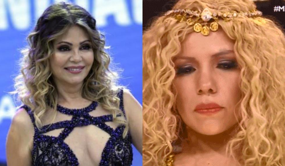 Gisela Valcárcel humilló con un comentario fuera de lugar a Susan Ochoa. (Collage)