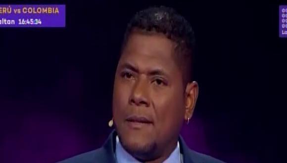 Juan Flores responde a las preguntas de Beto Ortiz en el Valor de la verdad. (Captura de televisión)