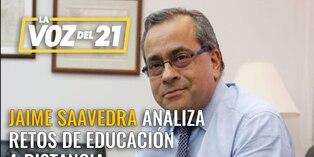 Jaime Saavedra analiza los retos de la educación a distancia en el Perú
