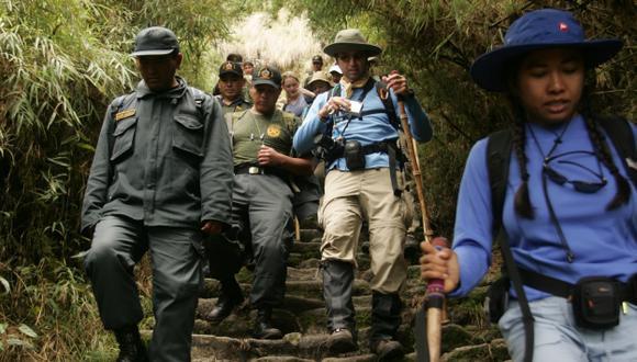 Camino Inca fue afectado. (USI)