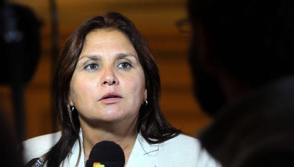 Marisol Pérez Tello cuestionó discurso de Pedro Castillo. (Foto: Andina)