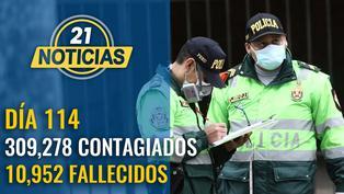 Cifra se eleva a 309,278 contagiados y 10,952 fallecidos por COVID-19