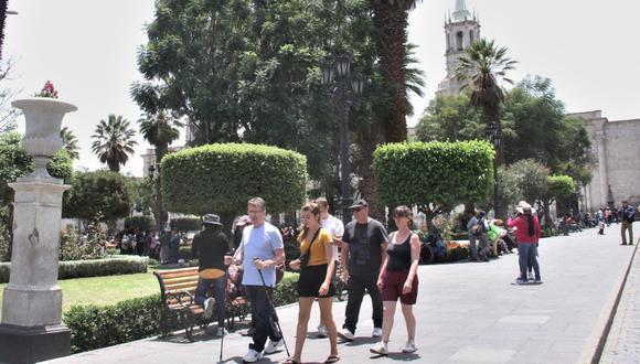 Arequipa: Hoteles y restaurantes sufren baja en ingresos por baja en flujo de turistas por coronavirus (Foto: archivo)