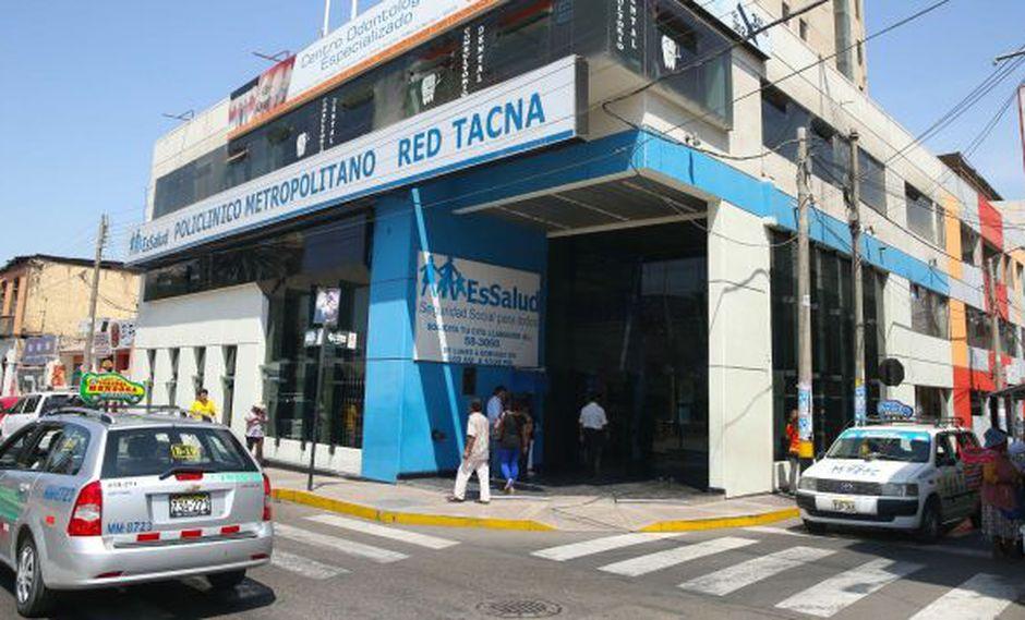Alerta verde en hospitales de tres regiones del sur del país. (Andina)