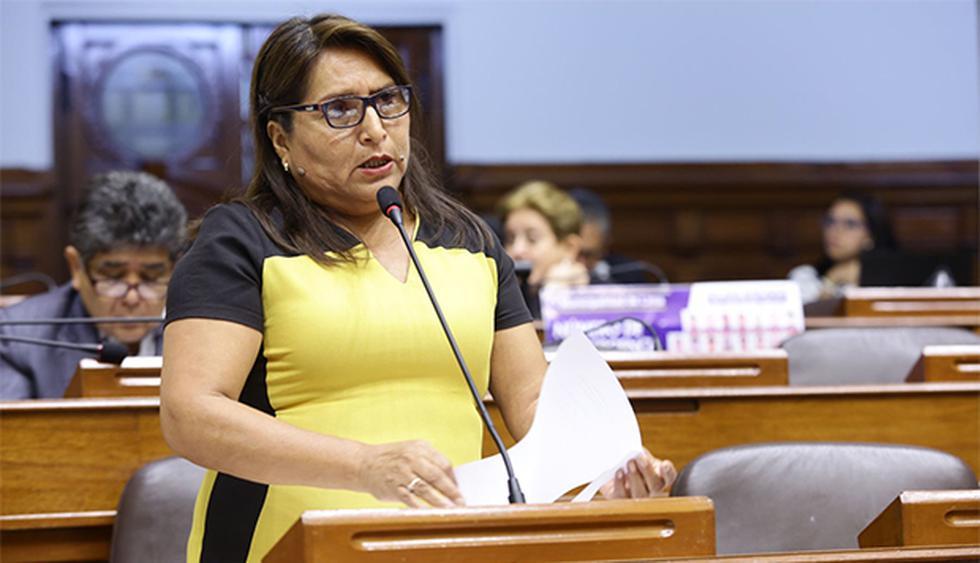 Betty Ananculí es acusada de los presuntos delitos de falsa declaración en procedimiento administrativo y falsedad genérica. (Foto: Agencia Andina)