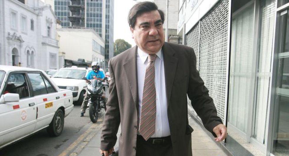 CUENTA REGRESIVA. El extitular de Justicia se suma a los cuestionamientos contra Pilar Freitas. (David Vexelman)