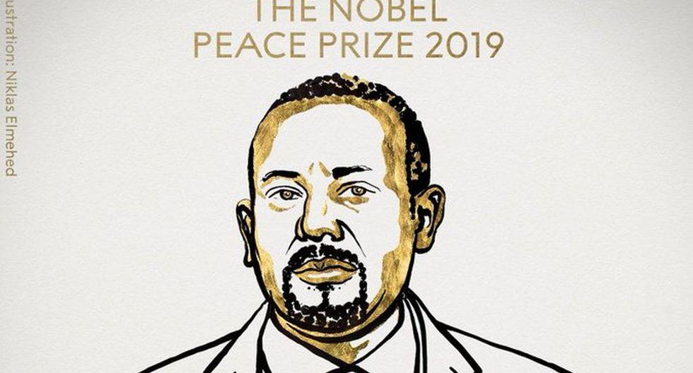 """""""El Comité Nobel noruego espera que el Premio Nobel de la Paz fortalezca al Primer Ministro Abiy en su importante trabajo por la paz y la reconciliación"""", se anunció en la ceremonia. (Niklas Elmehed)"""