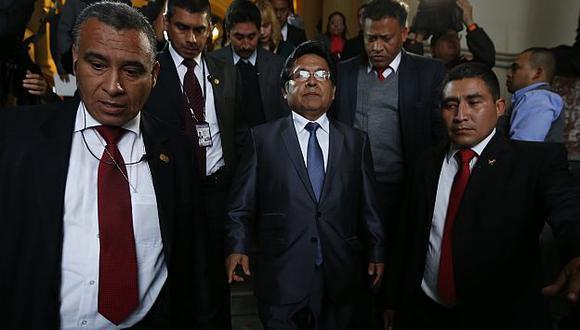 Obstáculos. Ramos Heredia pide más recursos para dinamizar la labor de sus cinco mil fiscales. (Rafael Cornejo)