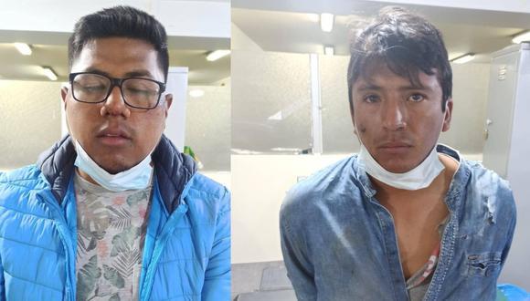 Arequipa: El Poder Judicial dictó 14  meses de prisión preventiva contra los falsos colectiveros Jeancarlo Garambel Flores y Uriel Trelles Terán, quienes asaltaron en auto a una comerciante y en su fuga chocaron con un camión y atropellaron a tres personas.