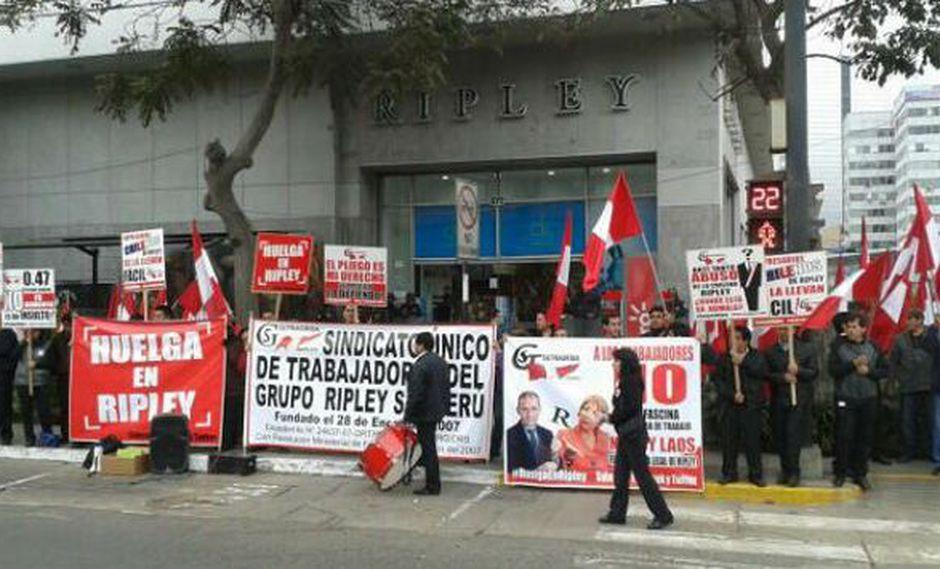 Trabajadores advirtieron que su huelga puede volverse indefinida si no atienden sus reclamos. (Difusión)
