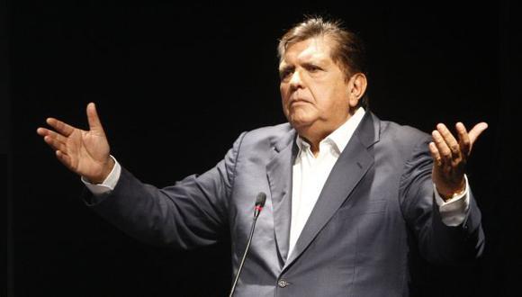 Alan García retornó al país y se pronunció sobre el indulto para el ex presidente Alberto Fujimori. (Perú21)