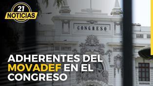 Adherentes del Movadef en el Congreso