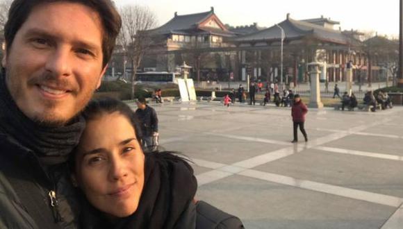 Cristian Rivero y Gianella Neyra anhelan conducir un programa juntos. (Créditos: Facebook de Cristian)
