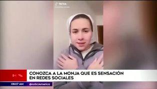Monja argentina causa furor en redes sociales