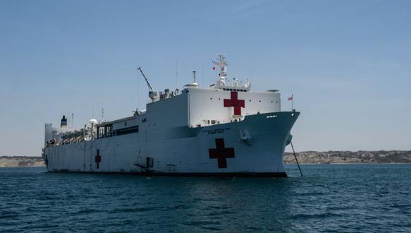 En este caso, Estados Unidos se refiere al USNS Comfort, que partió a mediados de octubre rumbo a Centroamérica y Sudamérica para ofrecer ayuda sanitaria a venezolanos. (Foto: AFP)