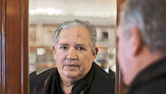 Ramón Miflin, ex mundialista. (Renzo Salazar)