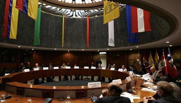 Representantes de Perú, Chile, Bolivia, Colombia y Ecuador integran el Parlamento Andino cuya sede es en Bogotá (GEC).