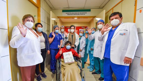 El adolescente de 17 años fue fue diagnosticado de una enfermedad renal crónica hace tres años. Foto: INSN San Borja